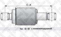 8703364SX Амортизатор кабины задн.(пневмо) Volvo FH12 16