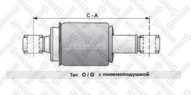 8703365SX Амортизатор кабины задн.(пневмо) Volvo FH12 16