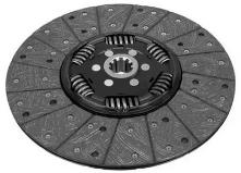0523124 Диск сцепления ведомый DAF/MAN D362 mm, Z10