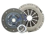 KY051A Комплект сцепления D215 мм, Z20 Hyundai Elantra (XD) 1.6 NZD Aisin