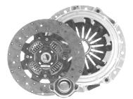 KM109 Комплект сцепления D277 мм, Z23 Mitsubishi Pajero