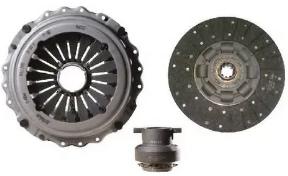 70837 Комплект сцепления Iveco EuroTech, EuroStar, Stralis, AD/AT/AS Stralis, EuroTrakker