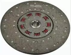 0123137 Ведомый диск сцепления MB D420 мм