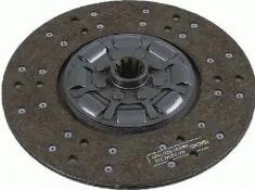 464829 Ведомый диск сцепления MB L-Series BM 615/616/617, 674/675/678