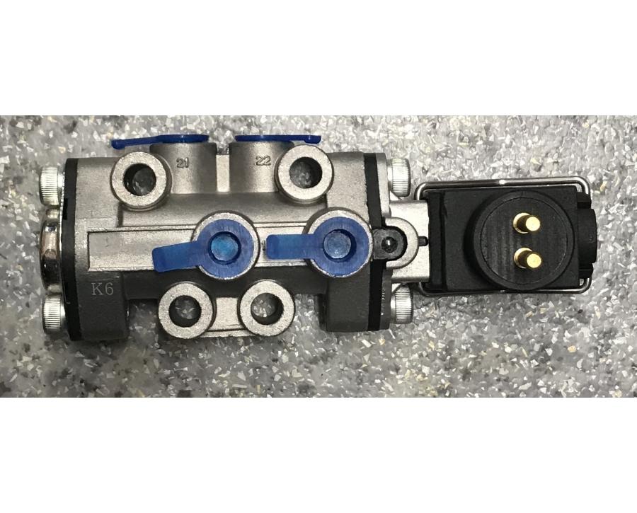 316377 клапан электромагнитный управления КПП Scania