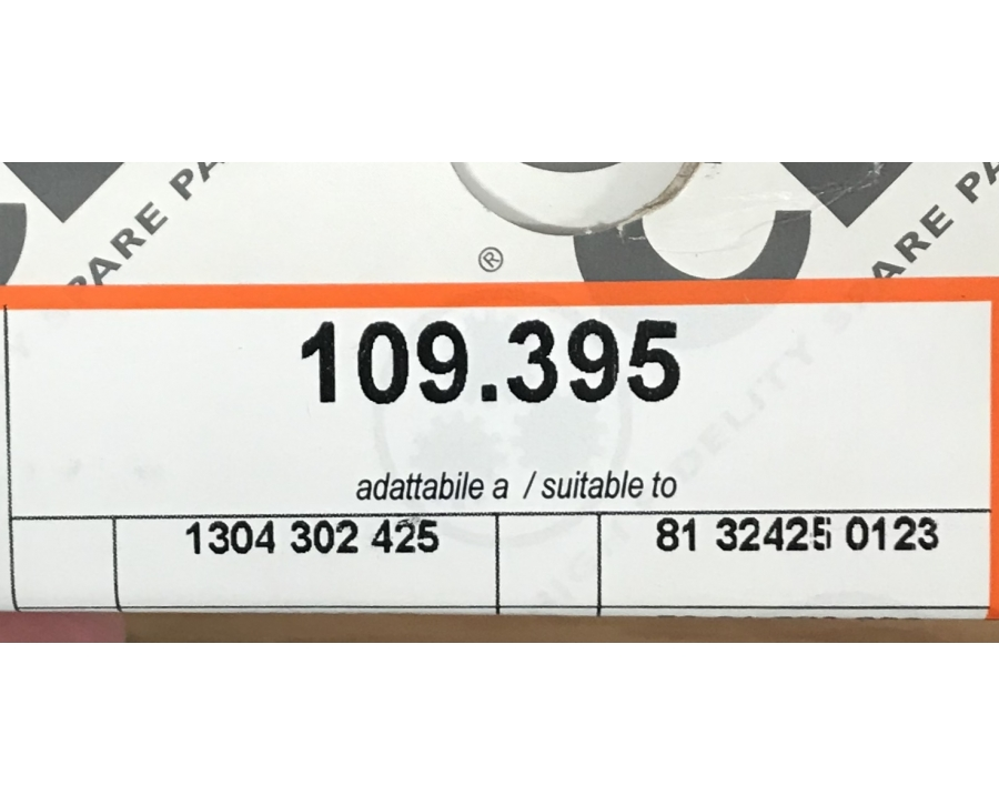 109395 кольцо синхронизатора конус MAN